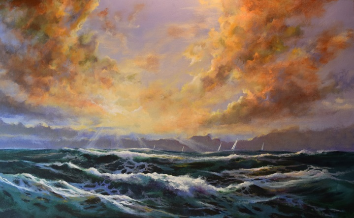 Paint Landscapes, Seascapes & Sunsets in Acrylics