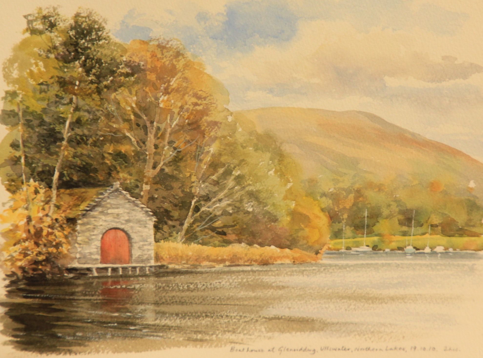 Paint the Southern Lakes, Villages & Castles of Cumbria