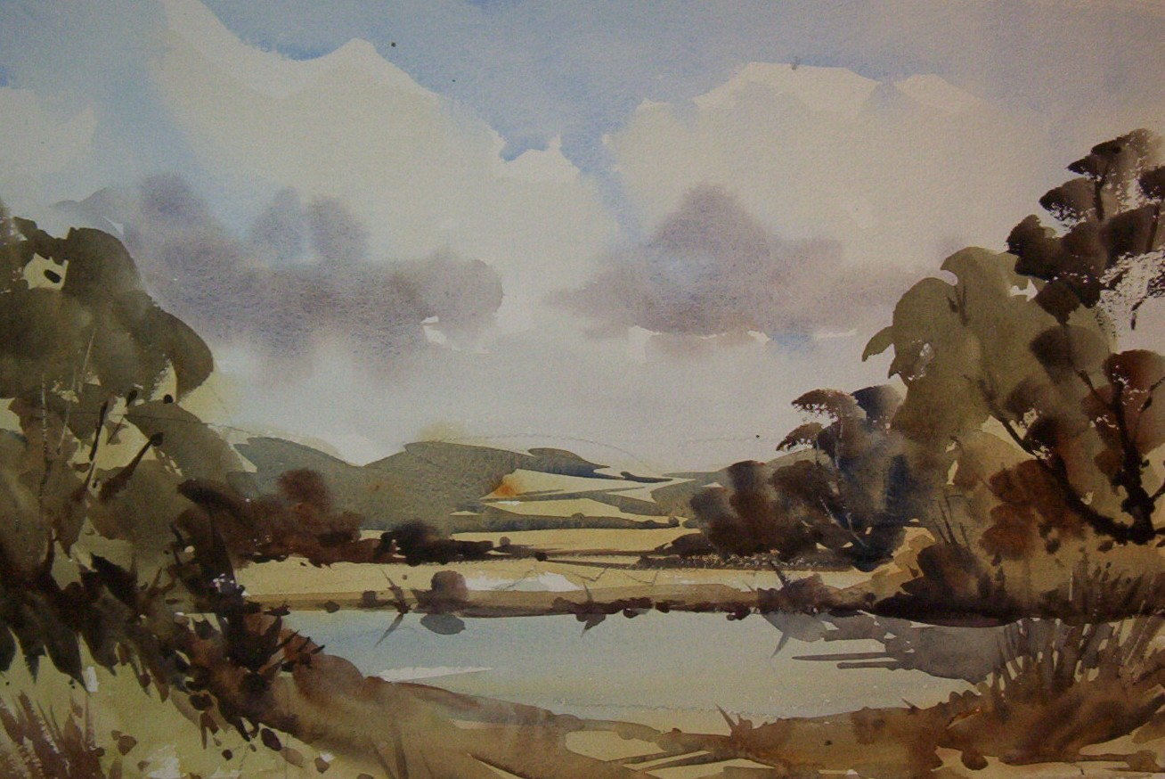 Paint the Beautiful Wye Valley in Watercolour